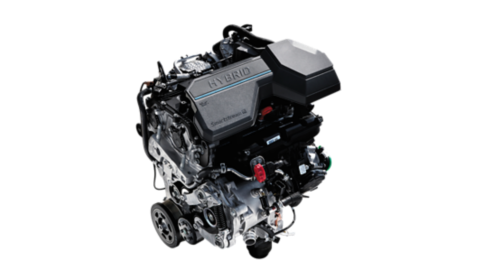 The 1.6-litre T-GDi petrol engine of the all-new Hyundai TUCSON Plug-in Hybrid compact SUV.